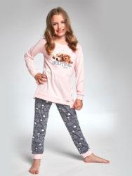 Cornette piżama dziewczęca 036/101 bedtime story