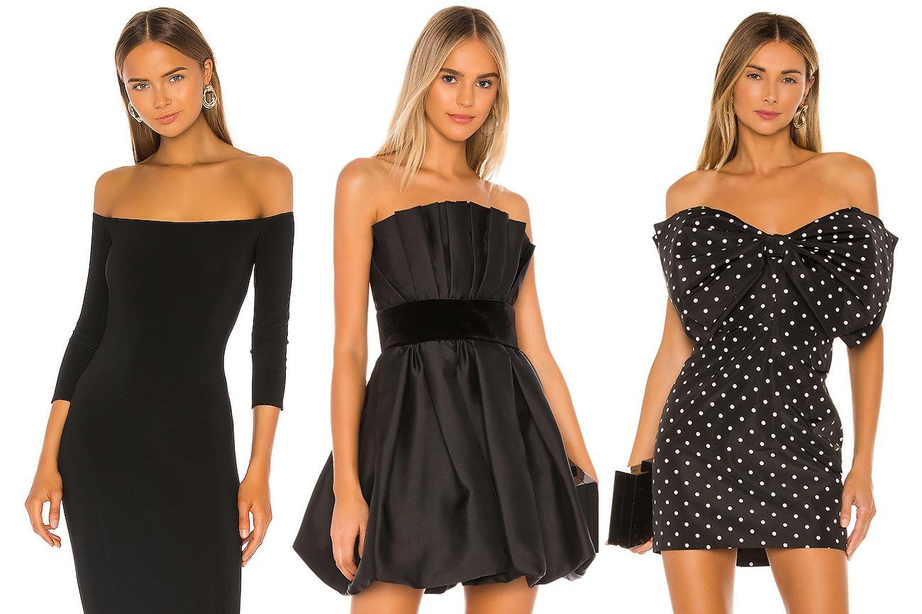 Nagie ramiona dodają sukienkom elegancji i są bardzo seksowne