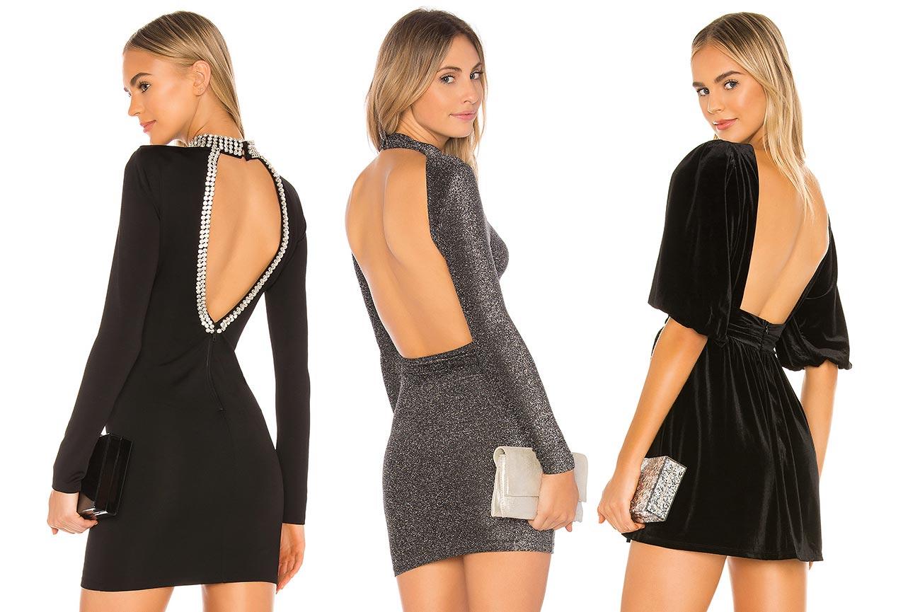 Sukienki z odsłoniętymi plecami wymagają założenia biustonosza wielofunkcyjnego